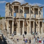 Enjoy a group tour to a Library in Ephesus - Cruise and Tour Planners