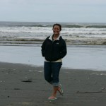 Katie at Ocean Shores, WA