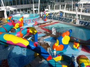 Water park on a Royal Carribbean Cruise Ship - Cruise and Tour Planner