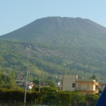 Quiet Mount Vesuvius in Italy